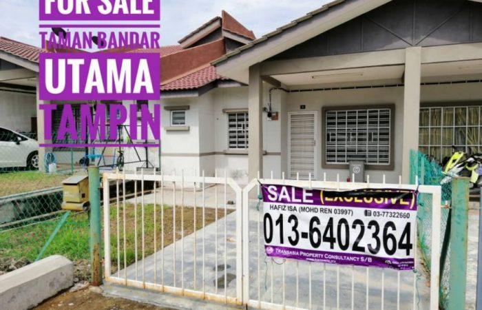 rumah untuk dijual tampin